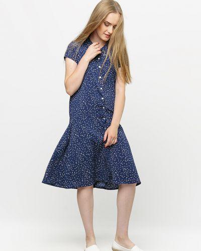 Синее платье летнее Dasti
