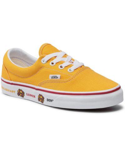 Żółte tenisówki Vans
