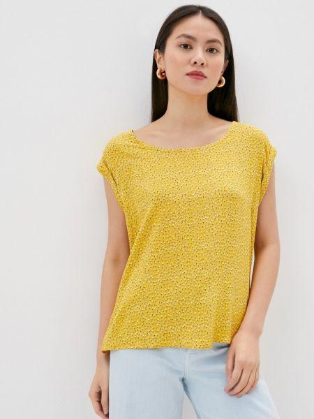 Желтая блузка с коротким рукавом Fresh Made