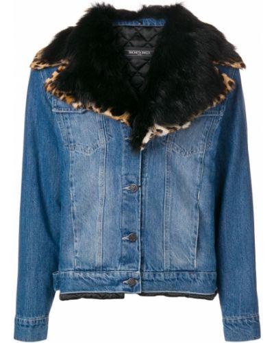 Черная джинсовая куртка Simonetta Ravizza