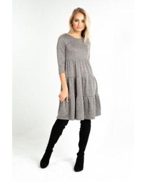 Платье мини платье-сарафан с люрексом Leleya