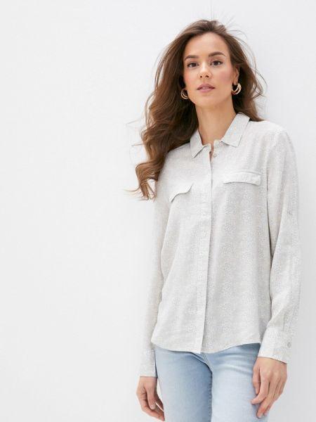 Клубная серая блузка с длинным рукавом Concept Club