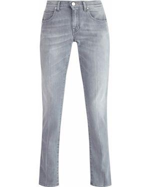 Прямые джинсы укороченные с вышивкой Jacob Cohen