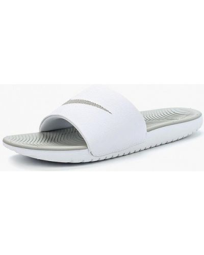 Белые сланцы Nike