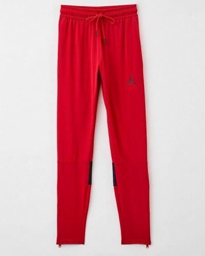 Спортивные брюки - красные Jordan