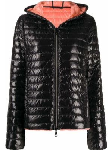 Черная куртка Duvetica