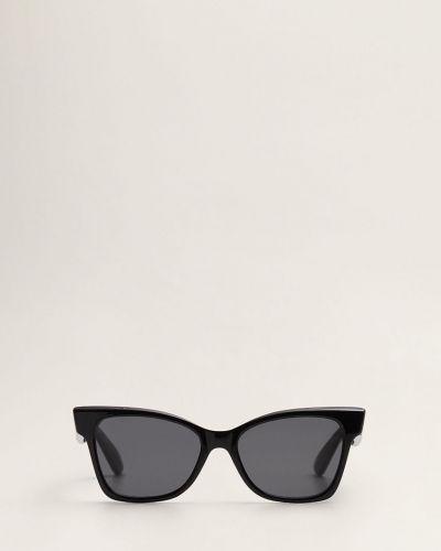 Солнцезащитные очки кошачий глаз черные Mango