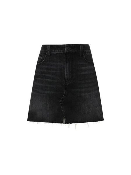 Юбка мини джинсовая стрейч Paige