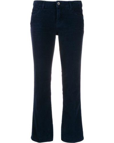 Укороченные брюки расклешенные свободные Haikure