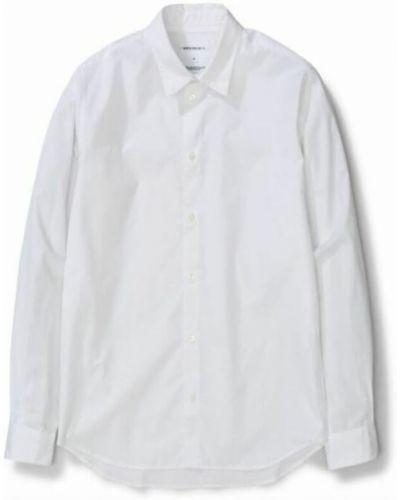 Klasyczna biała koszula - biała Norse Projects