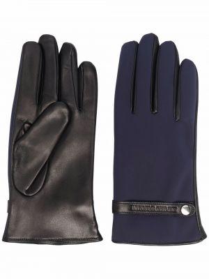 Klasyczne rękawiczki - niebieskie Emporio Armani