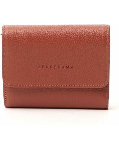 Brązowy portfel Longchamp