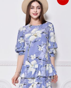 Платье с поясом с цветочным принтом платье-сарафан Nikol