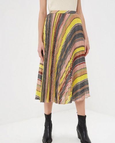 Разноцветная юбка Karen Millen