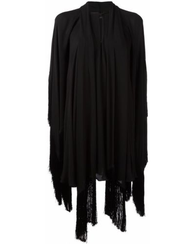 Платье с драпировкой шелковое Plein Sud