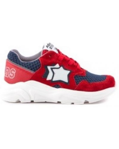 Czerwone sneakersy Atlantic Stars
