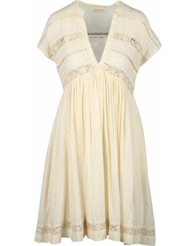 Beżowa sukienka Maison Hotel