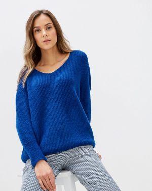 Пуловер - синий Moocci