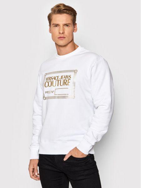 Bluza - biała Versace Jeans Couture