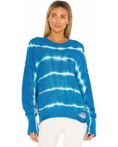 Акриловый свитер - синий Nsf