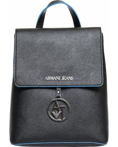 Черный рюкзак Armani Jeans