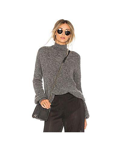 Вязаный свитер из акрила с воротником Lovers + Friends