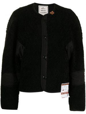 Черная длинная куртка Maison Mihara Yasuhiro