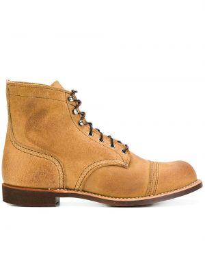 Półbuty skórzane - brązowe Red Wing Shoes