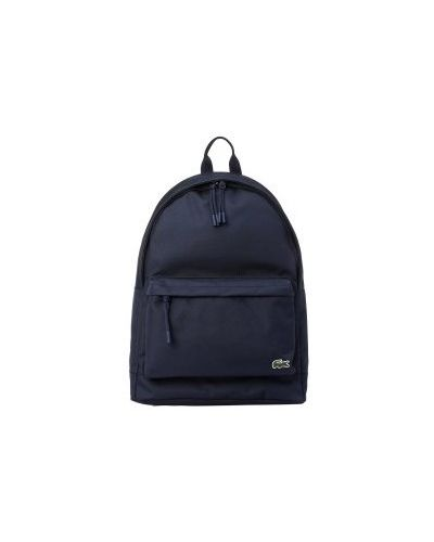 Рюкзак темно-синий синий Lacoste