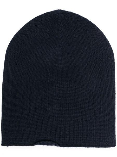 Czarna z kaszmiru czapka Falke