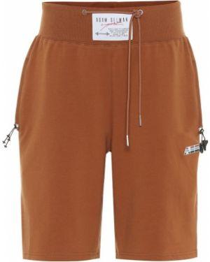Однобортные коричневые спортивные шорты Adam Selman Sport