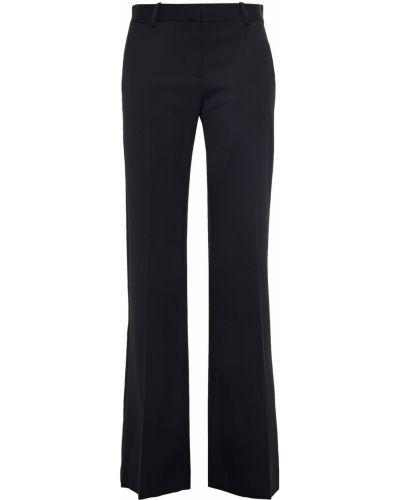 Шерстяные черные брюки с поясом Bella Freud