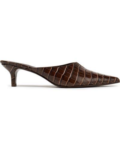 Мюли на каблуке Reformation