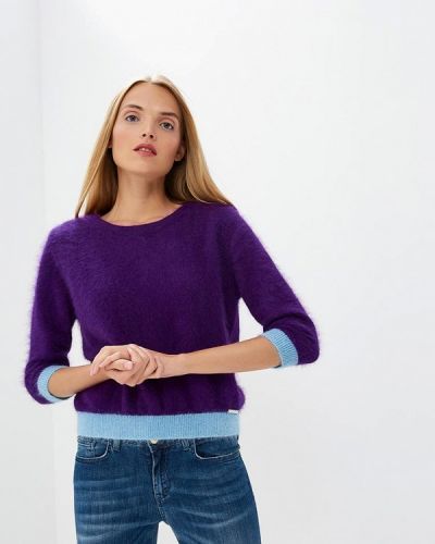 Фиолетовый джемпер итальянский Frankie Morello
