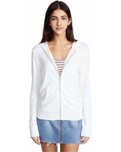 Bluza bawełniana - biała Monrow