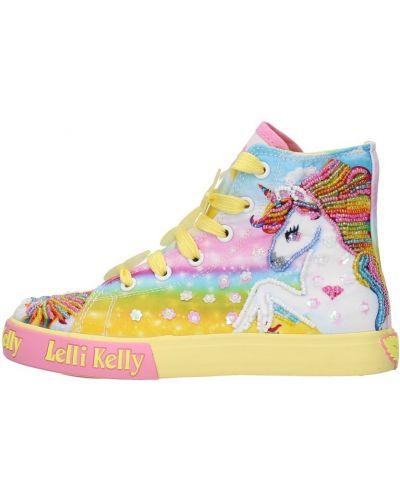 Żółte sneakersy Lelli Kelly