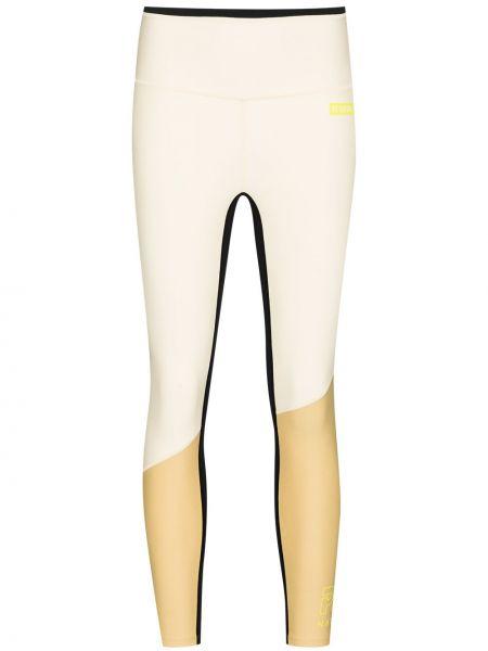Бежевые укороченные брюки P.e Nation