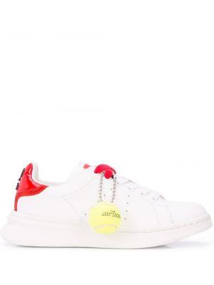 Кроссовки с логотипом на шнуровке Marc Jacobs