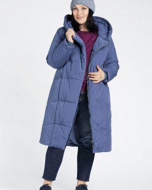 Зимнее пальто стеганое джинсовое D`imma Fashion Studio