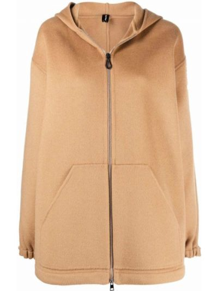 Коричневое длинное пальто PaltÒ