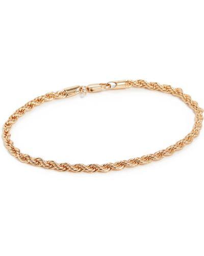 Złoty łańcuszek pozłacany Loeffler Randall