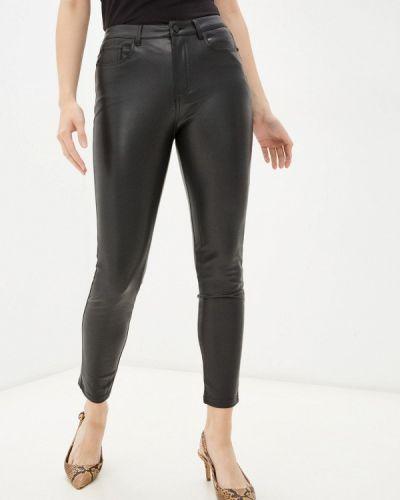 Кожаные брюки - черные Softy