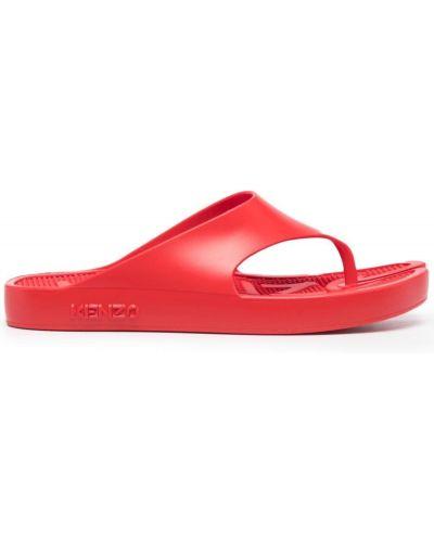 Пляжные вьетнамки - красные Kenzo