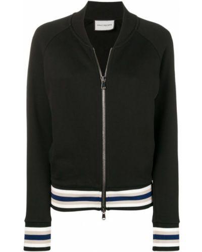 Черная куртка с манжетами Roqa