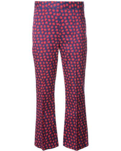 укороченные брюки с принтом Alice+olivia