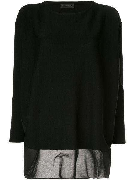 Черный свитер Anteprima