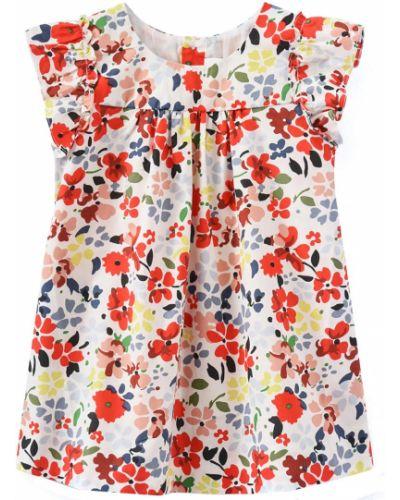 Красное платье Bonpoint