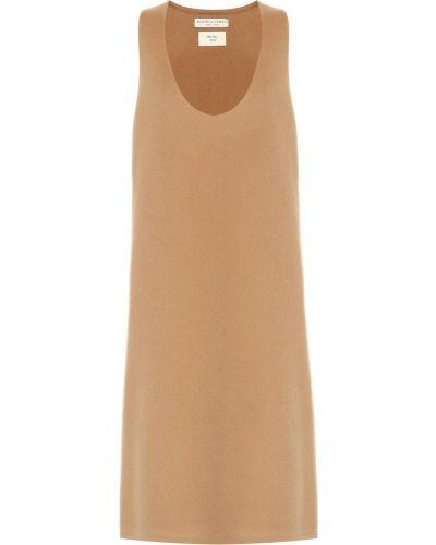Платье мини из штапеля классическое Bottega Veneta