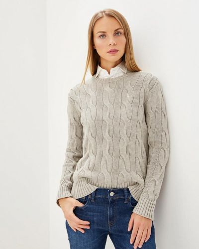 Серый джемпер Polo Ralph Lauren