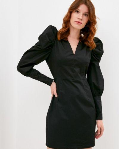 Прямое черное платье Y.a.s